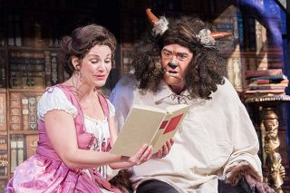 News-Register file photo##Gallery Theater s 2019 production of  Beauty and the Beast   was named best  Production of a Musical of the Decade  in the Broadway World Regional 2020 Awards.