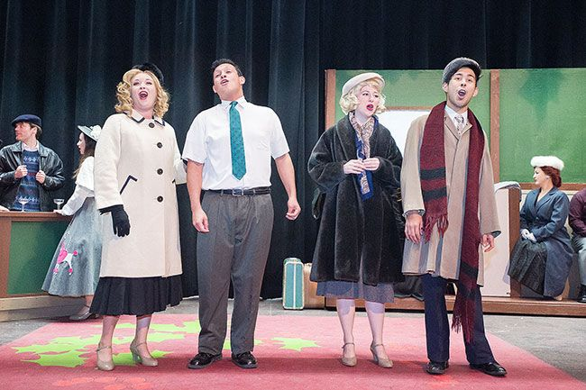 play review white christmas a brightly wrapped gift - White Christmas Play