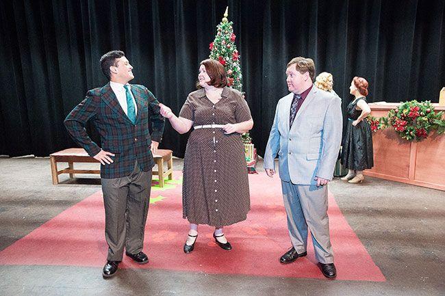 marcus larsonnews registerphil davis luis becerril martha - White Christmas Play