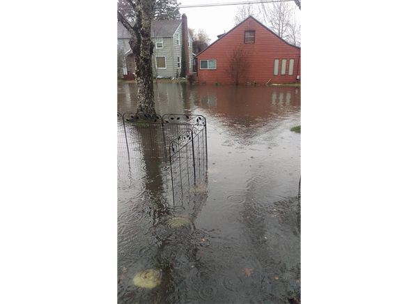 Photo submitted by Xander Clark##The corner of 13th and Galloway streets in McMinnville.