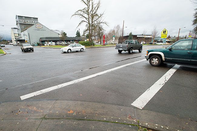 Marcus Larson / News-Register##McMinnville City Council members decided on a light, rather than a roundabout, at Fifth and Lafayette.