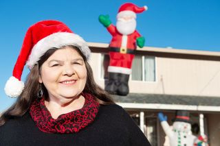 Rusty Rae/News-Resgister ## Leslie Overgard decorated her home and yard for the holidays this year. She wanted her granddaughter and other Dayton residents to see Christmas Lights, especially in 2020.