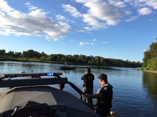Photos courtesy of the Yamhill County Sheriff s Office##The search continued Thursday in the Willamette River in the area of the Wheatland Ferry for a missing California resident.
