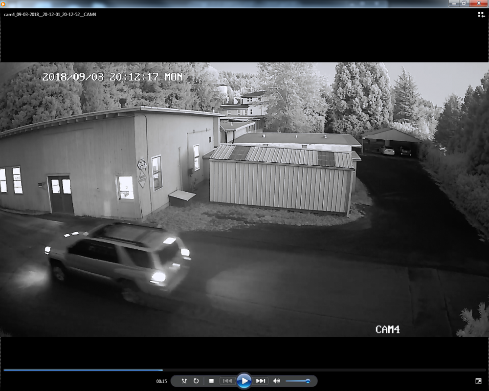 Courtesy of the Yamhill County Sheriff s Office## Video surveillance images of the suspect and his vehicle.