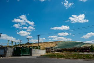 Rusty Rae/News-Register##Riverbend Landfill this week