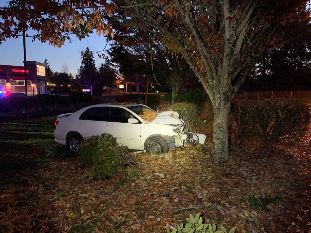 McMinnville Police Department photo##A Salem woman sustained serious injuries after crashing her car Tuesday morning in the area of Walgreens.