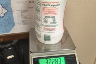 Submitted photo##A container in which meth was hidden.