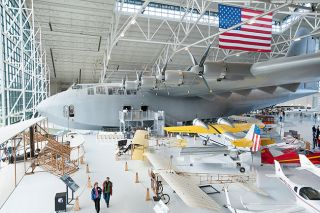 News-Register file photo##The Evergreen Aviation & Space Museum will complete payments for the famous airplane over five years.